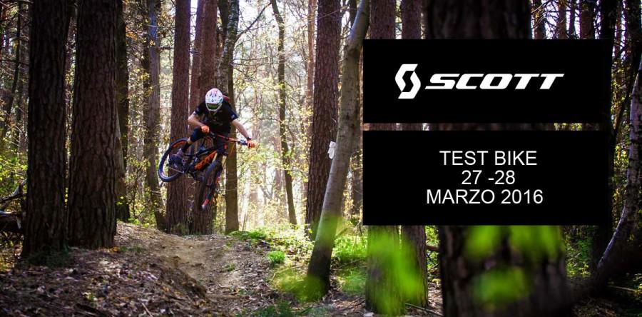 SCOTT BIKE TEST – 27-28 Marzo